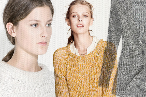 Stock Up on Thick Knit Sweaters