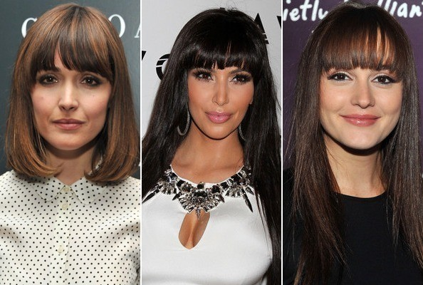 Fancy Fringe - Celebrities with Bangs