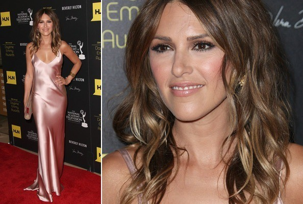 Elizabeth Hendrickson In A Pink Slip Best And Worst