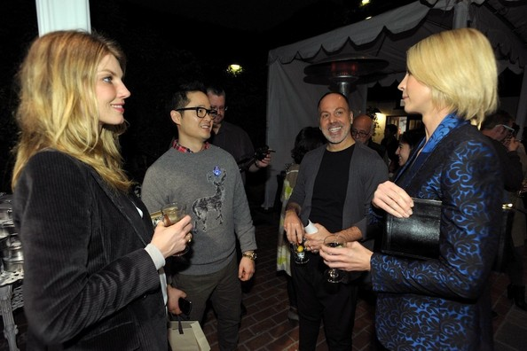 Guests Chit-Chat at the Stella McCartney LA Holiday Party