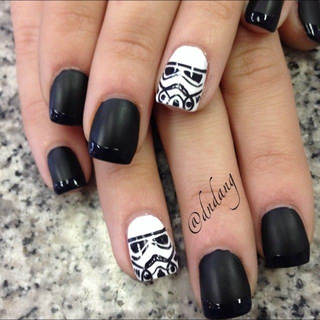 Star Wars Nail Art Ideas: These Nails Can't Hit A Thing