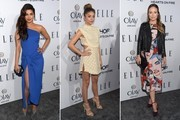 Best Dressed at Elle's 6th Annual Women in Television Dinner