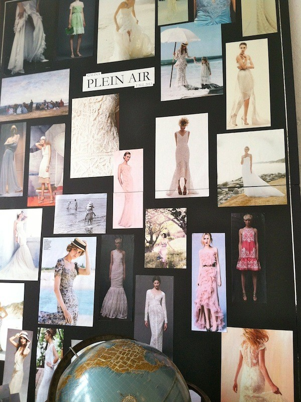 Ever Wonder How Wedding Gown Designers Get Inspiration? Here's How!