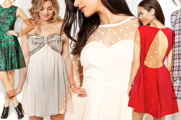 The 50 Prettiest Holiday Dresses of the Season (for Under $100!)