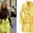Blake Lively's Yellow Trench on 'Gossip Girl'