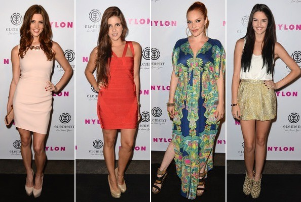 Best & Worst Dressed - Nylon August 2012 Launch Party