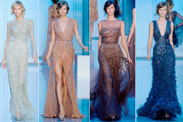 Sheer Romance: Elie Saab Couture Fall 2011