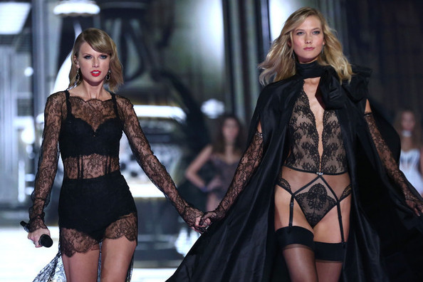 Taylor Swift and Karlie Kloss to Cover 'Vogue,' Heidi Klum Strips Down and More