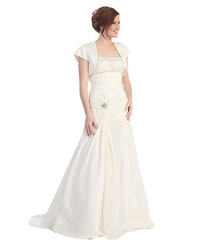 sears ivory satin evening dress 150 wedding dresses you can buy