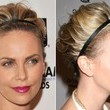 Charlize Theron's Short Hair Updo