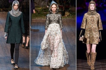 Medieval-Inspired Fashion Courtesy of Dolce & Gabbana