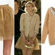 Jaime King's Gold Sequined Cardigan on 'Hart of Dixie'
