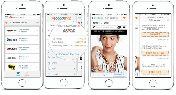 Site Spotlight: Goodshop's iOS App