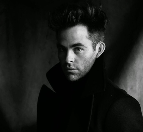 Chris Pine in Black & White