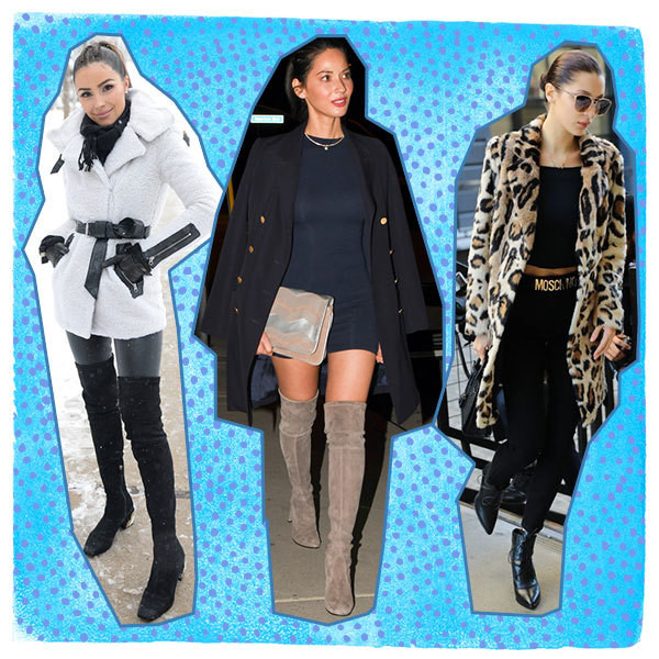 How The Most Stylish Celebs Wear Winter Coats
