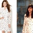 Zooey Deschanel's Polka Dot Shirt Dress on 'New Girl'