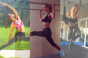 Celebrity Fitness Inspiration on Instagram