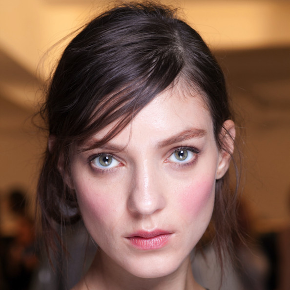 Beauty Inspiration - Rosy Cheeks at Marni's Spring 2013 Show