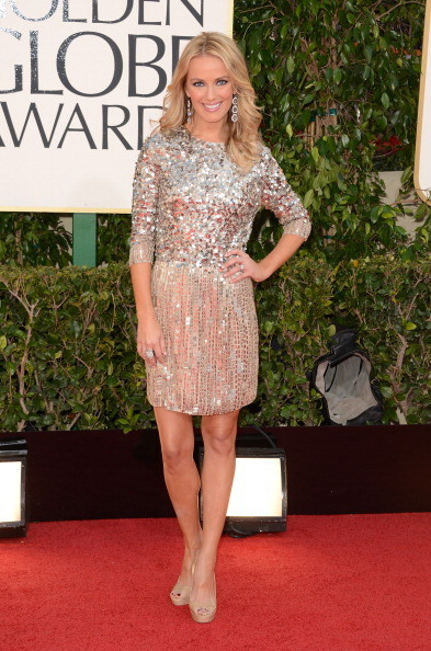 Brooke Anderson at the 2013 Golden Globes