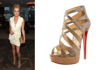 Snake Charmer: Cat Deeley in Christian Louboutin