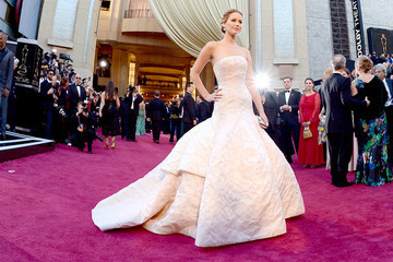 Jennifer Lawrence on the Red Carpet