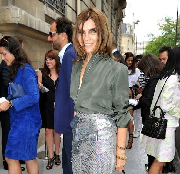 Carine Roitfeld Says the Word 'Pee,' Compares Karl Lagerfeld to J. Lo, and More!