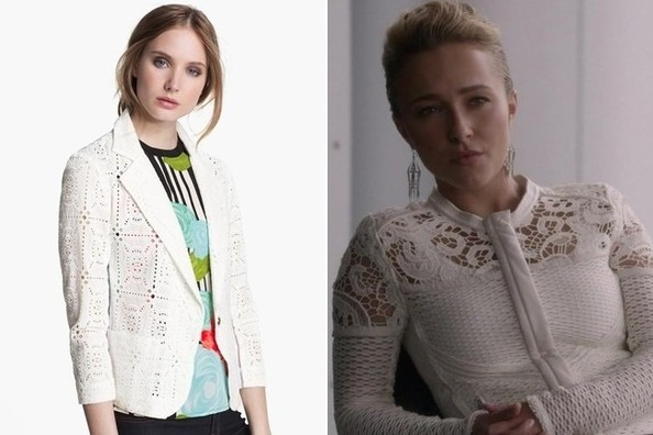 A White Lace Jacket Like Hayden Panettiere's on 'Nashville'