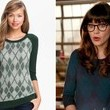 Zooey Deschanel's Argyle Sweater on 'New Girl'