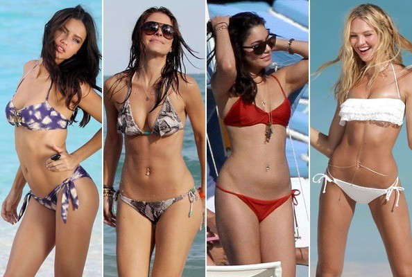 Hollywood's Hottest Bikini Bodies 2012