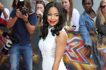 Sarah-Jane Crawford's Stunning White Dress