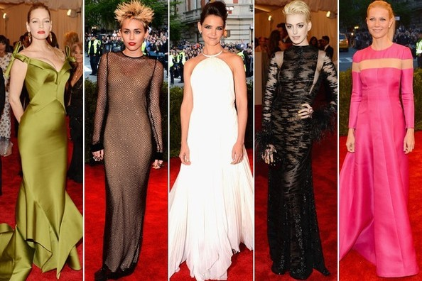 The Best Dressed at the 2013 Met Ball