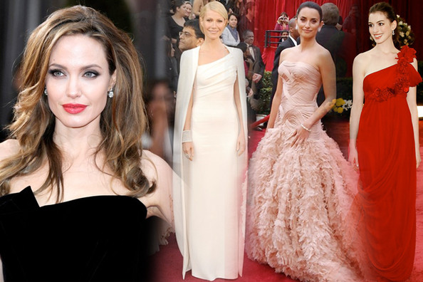 The Most Gorgeous Gowns of the Academy Awards