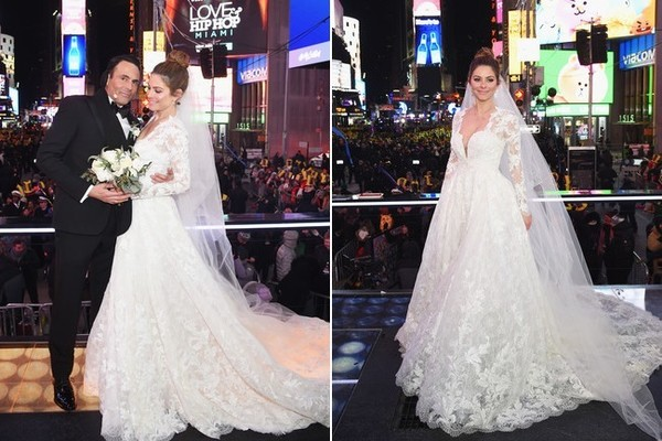 Maria menounos celebrity wedding dresses stylebistro celebrity wedding dresses junglespirit Gallery