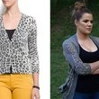 A Leopard-Print Cardigan Like Khloe Kardashian's on 'Keeping Up With the Kardashians'