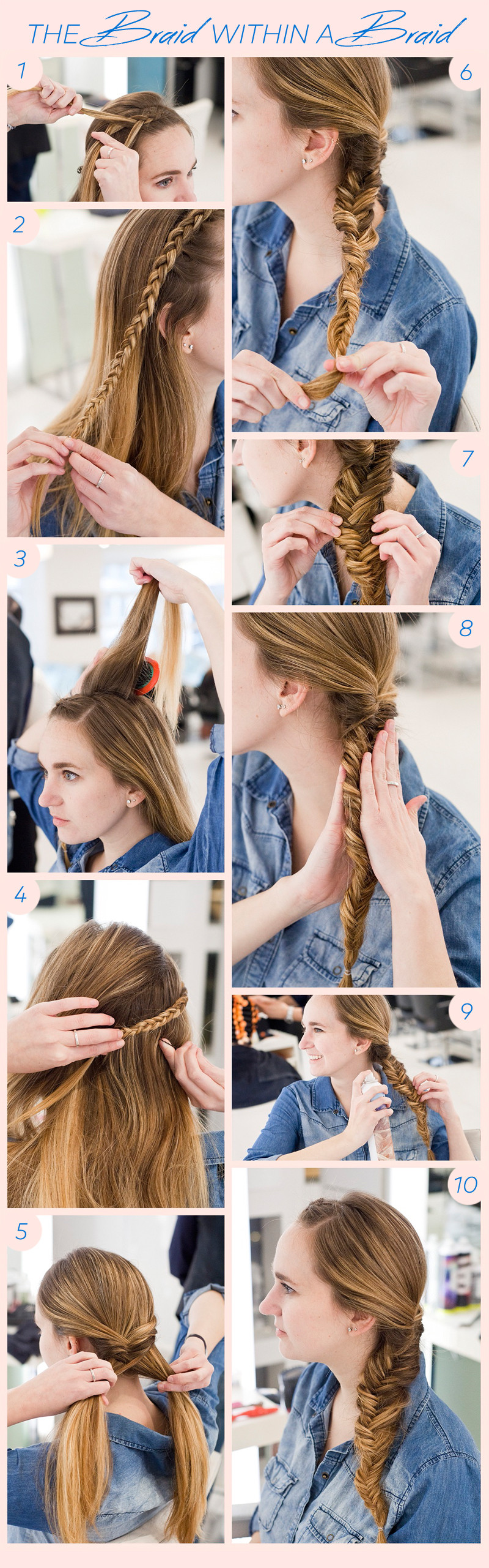 DIY This Braid Within a Braid For Festival Season