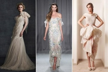 20 Unique Wedding Dresses Found on Pinterest