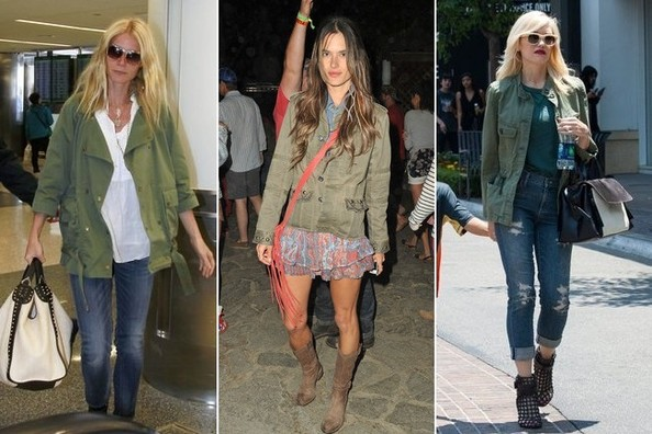 Ten Ways to Wear a Military Jacket