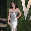 Clea Duvall Wore Pamella Roland at the Vanity Fair Oscars Party 2013