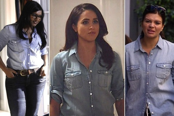 Snag the Chambray Blouse TV Stars Can't Get Enough Of