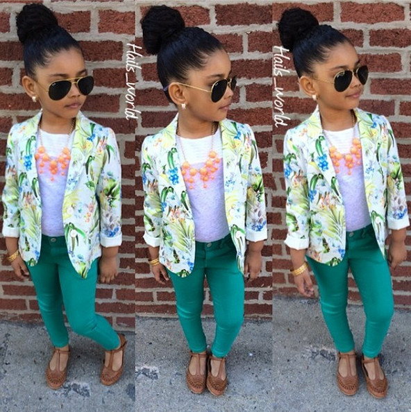 Ff Five Fashionable Toddlers To Follow On Instagram The Internet Stylebistro