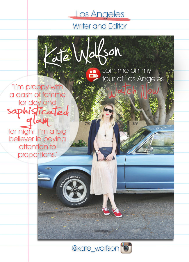 Meet Kate Wolfson and Watch Her City Tour