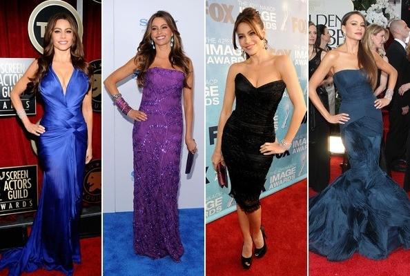 Sofia Vergara's Best Red Carpet Looks of All Time