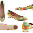 Kicky Spring Flats in a Charming Liberty Print