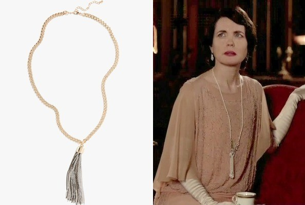 A Tassel Necklace Like Elizabeth McGovern's on 'Downton Abbey'