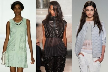 Spring Trend to Try: Perforated Leather