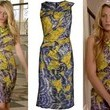 Blake Lively's Abstract Print Dress on 'Gossip Girl'