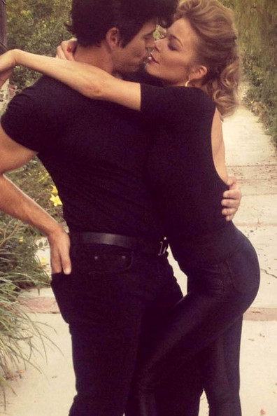 LeAnn Rimes and Eddie Cibrian (2012)