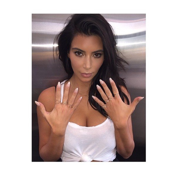 While Kim Shows Her Talons