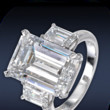 The Emerald-Cut Three Stone Ring