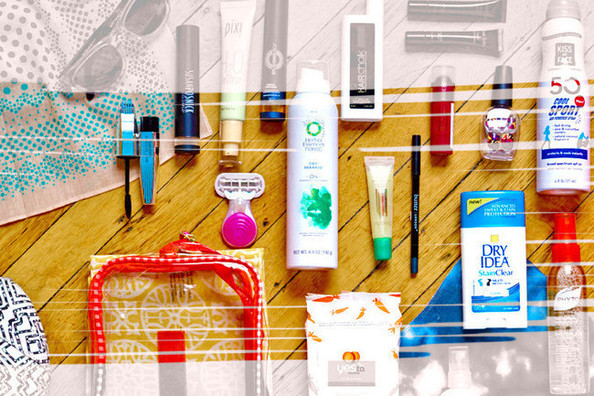 A Glimpse Inside Our Coachella Beauty Bag